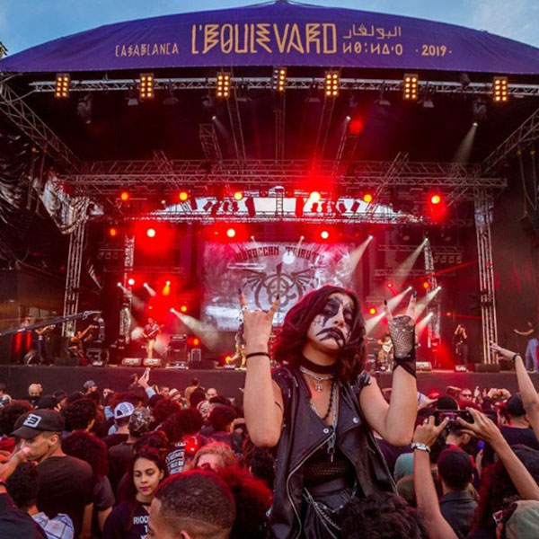 morocco events lboulevard music festival